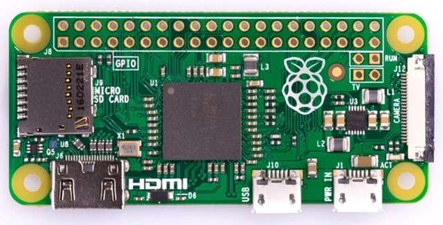 La scheda Raspberry Pi Zero