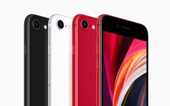 iPhone SE, beneficenza rosso Covid