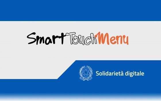 Solidarietà Digitale: SmartTouch Menu per ristoratori
