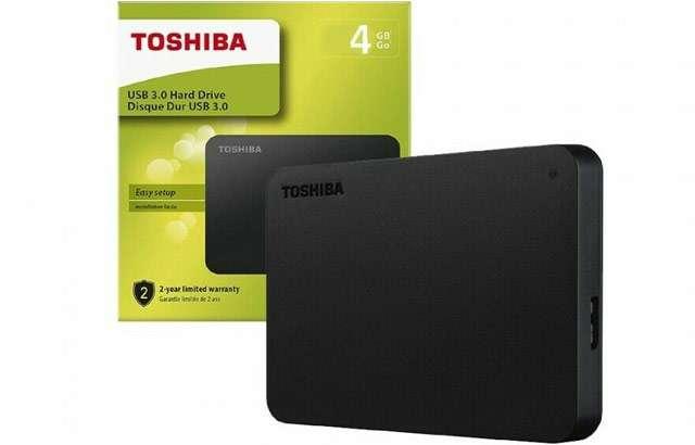 HDD Toshiba Canvio 4 TB