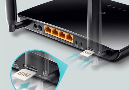 Router tp link 4G