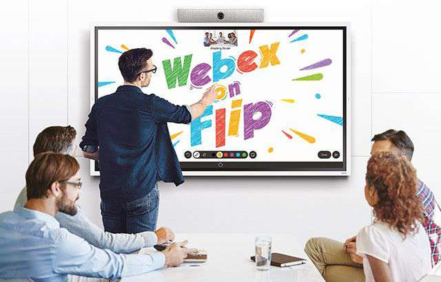 Cisco Webex su Samsung Flip