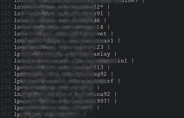 Alcune delle password di Zoom rubate e diffuse sul Dark Web