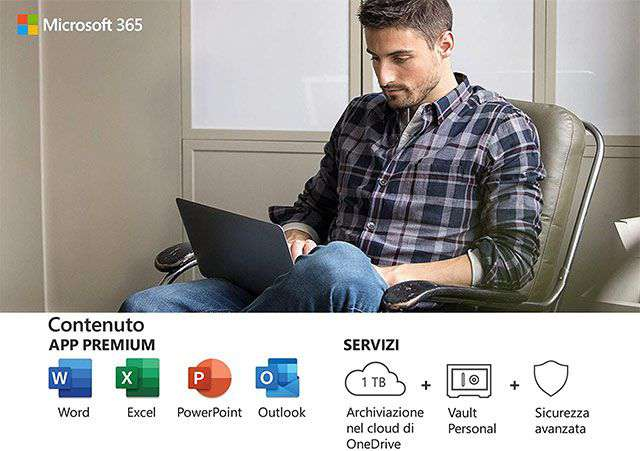 Cosa offre l'abbonamento a Microsoft 365