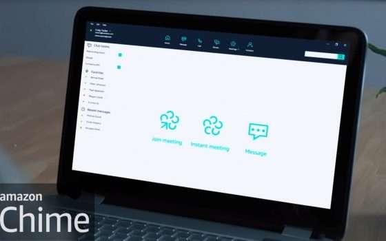 Amazon Chime per lo smart working, la guida completa