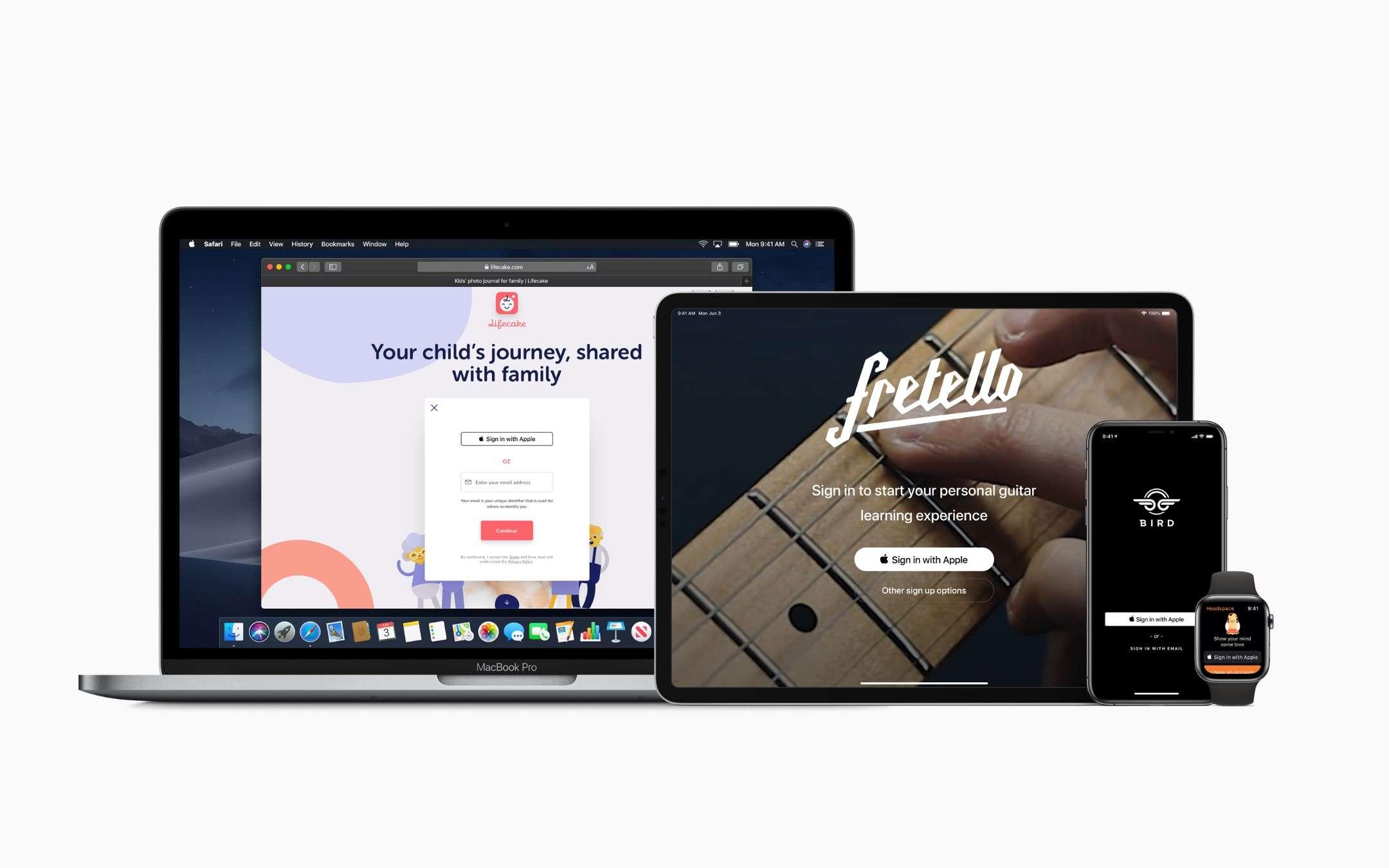 Accedi con Apple
