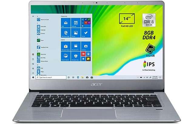 Il laptop Acer Swift 3