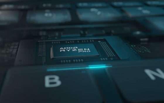 Le CPU AMD Ryzen PRO 4000 per i laptop business