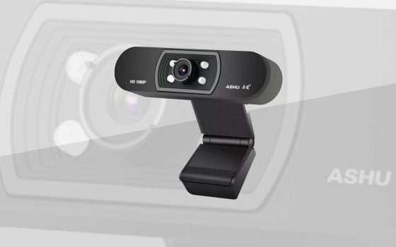 Una webcam 1080p per Zoom, Teams, Meet e Skype