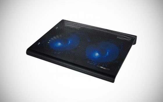 Trust Azul su eBay: poggia-laptop con due ventole