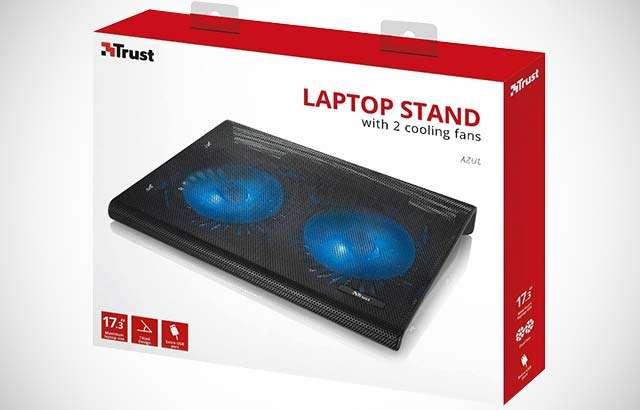 Trust Azul, base per laptop con due ventole dedicate al raffreddamento