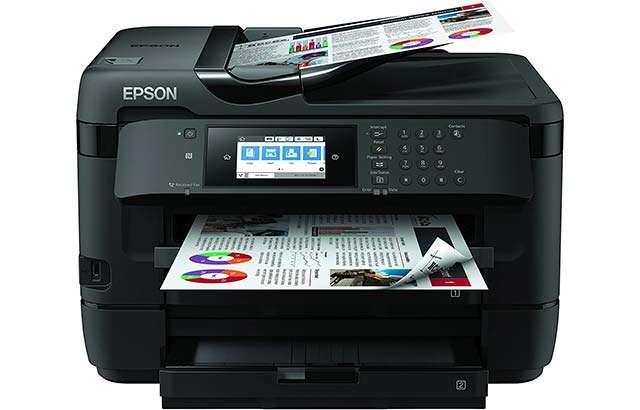 La stampante multifunzione Epson WorkForce WF-7720DTWF,