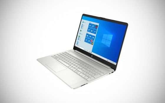 Il laptop HP 15S in offerta su eBay: -11%