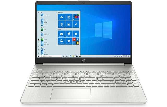 Il laptop HP 15S-FQ1000NL