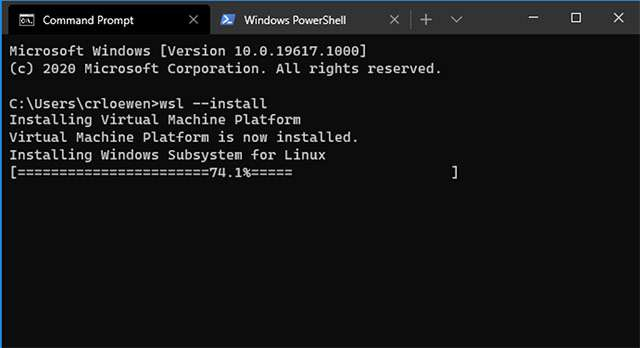 Windows Subsystem for Linux: installazione rapida