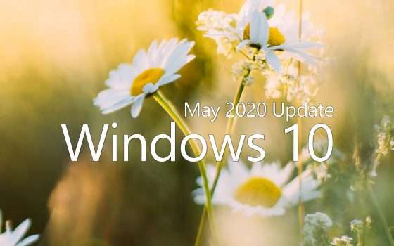 Windows 10 May 2020 Update: forzare l'aggiornamento