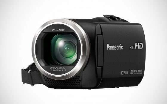 Videocamera Panasonic Full HD a 149,99 euro
