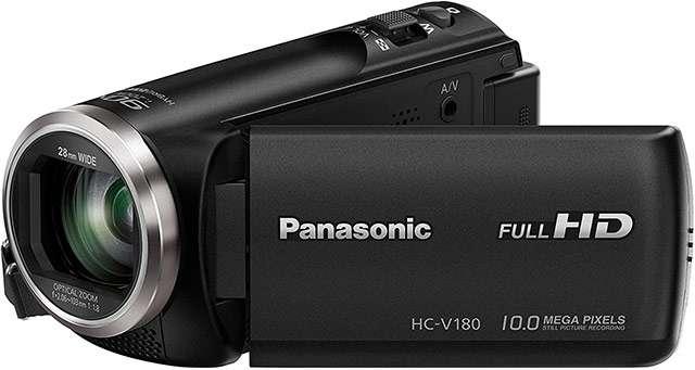 La videocamera Panasonic HC-V180EG-K