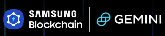 La partnership tra Samsung Blockchain e Gemini