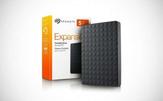 HDD esterno Seagate da 5 TB in offerta su eBay