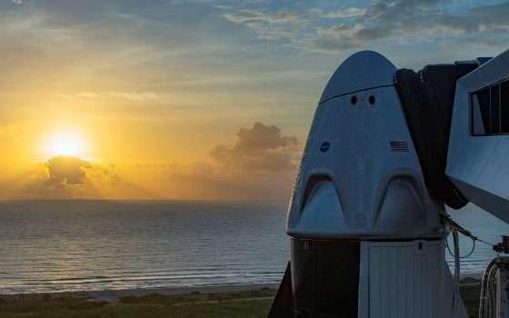 SpaceX pronta al lancio: le immagini in diretta