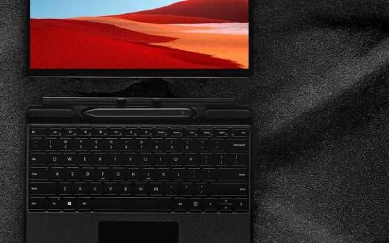 Surface Pro X in offerta su Amazon: -19%