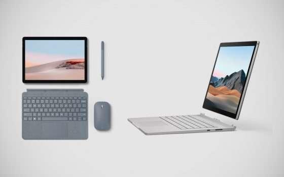 Surface Go 2 e Surface Book 3 sono ufficiali