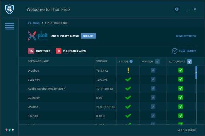 thor-free-software-updater-dashboard