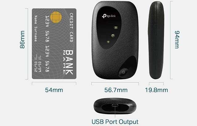 Il mobile router TP-Link M7200