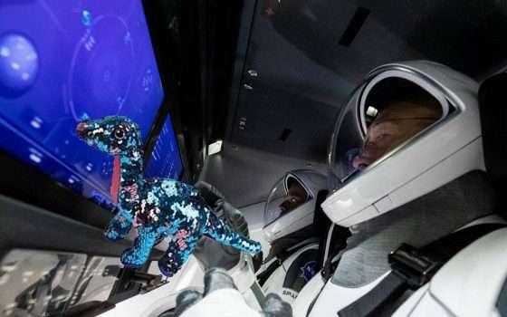 Il dinosauro peluche di SpaceX? Eccolo su Amazon