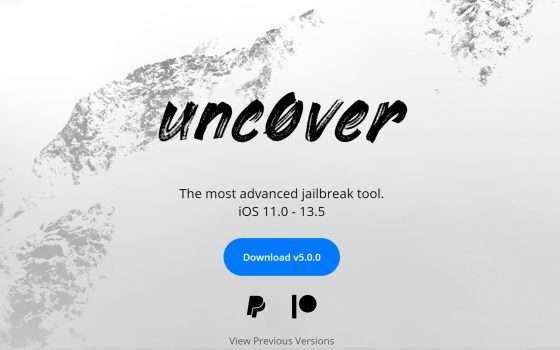 Unc0ver 5.0, jailbreak per iPhone da iOS 11 a 13.5