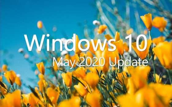 Windows 10 May 2020 Update tra il 26 e il 28 maggio
