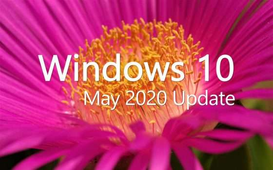 Windows 10 May 2020 Update nel canale MSDN