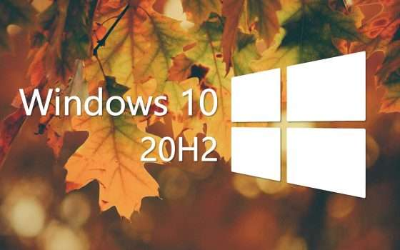 Windows 10 20H2 non sarà un major update