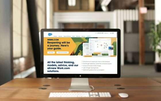 Salesforce lancia Work.com per la riapertura