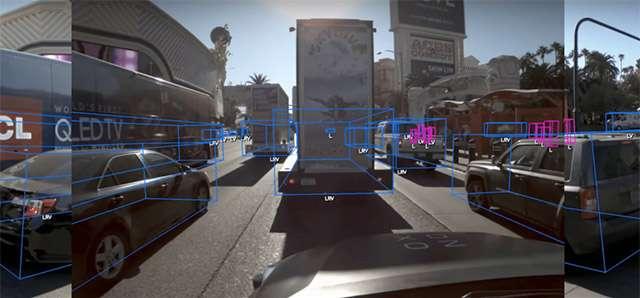 La tecnologia di Zoox per le self-driving car