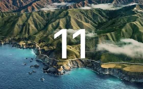 macOS 11 Big Sur: ecco la beta pubblica