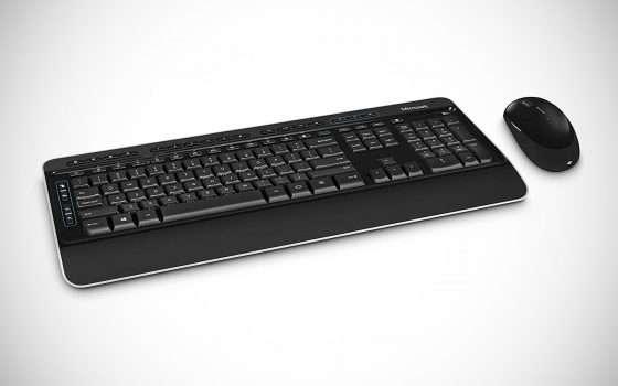 Kit mouse+tastiera Microsoft Desktop 3050 a -50%