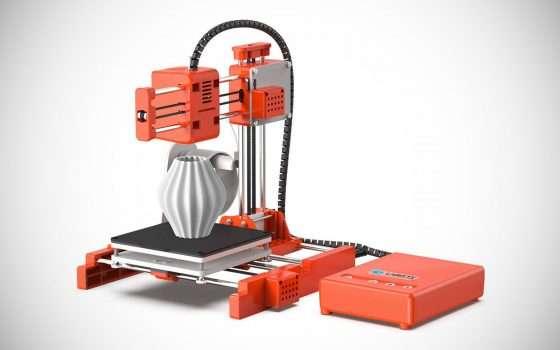 Una stampante 3D a poco più di 100 euro su Amazon