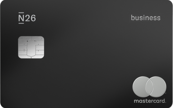 N26 Business Metal Card_Charcoal Black