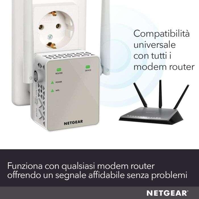Netgear ripetitore wifi