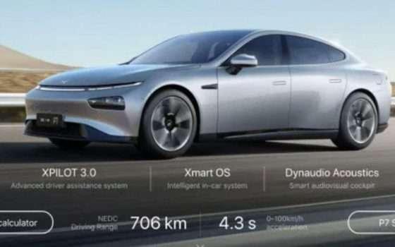 Tesla: il sito web copiato dall'azienda rivale di Xpeng