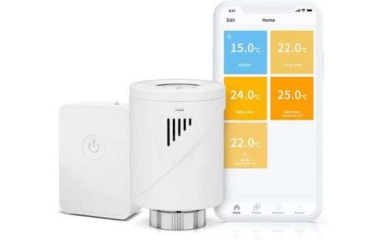 Hub e Valvola Termostatica Intelligente Wifi