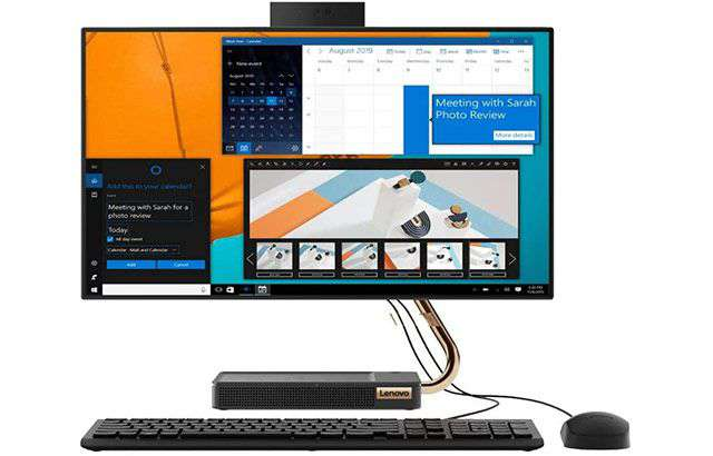Il PC all-in-one Lenovo IdeaCentre A540