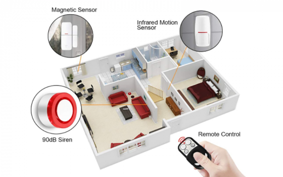 sistema allarme smart