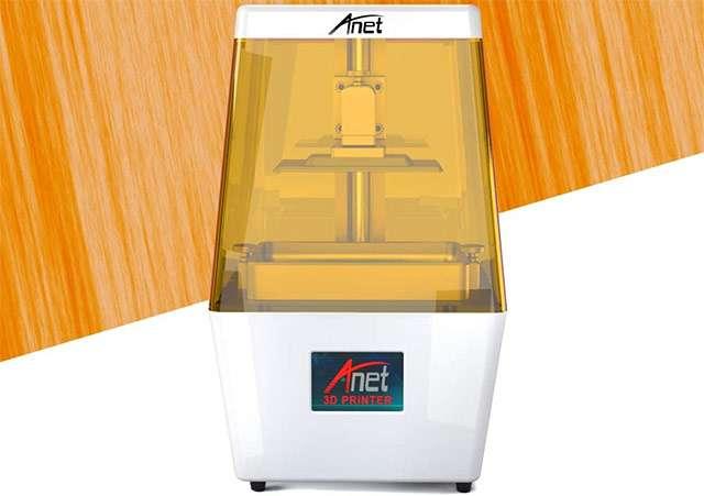 Anet N4 UV LCD, la stampante 3D con resina