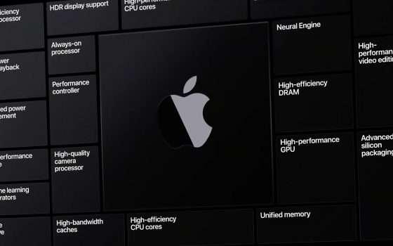 Le CPU ARM di Apple compatibili con Thunderbolt