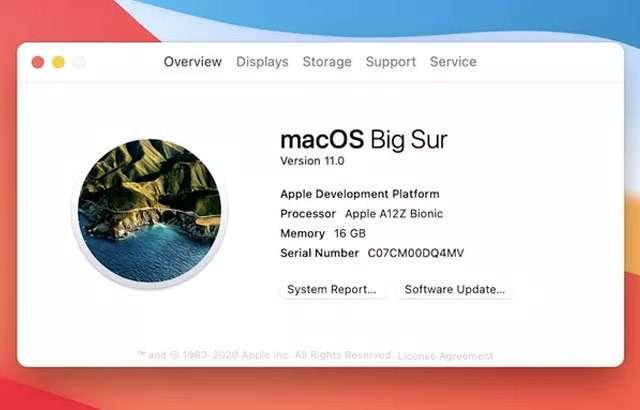 Big Sur è l'aggiornamento che porta il sistema operativo macOS alla versione 11