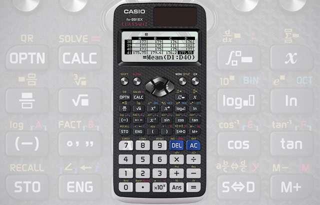 La calcolatrice scientifica Casio FX-991EX