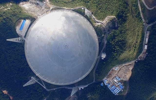 Il telescopio FAST in Cina